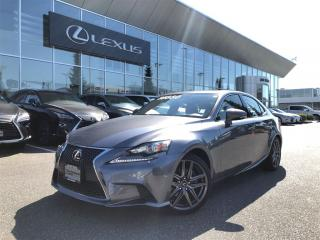 Used 2015 Lexus IS 250 F SPORT SERIES 2 PACKAGE AWD SUMMER SPECIAL for sale in Surrey, BC