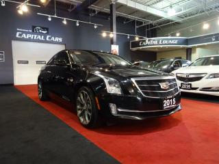 Used 2015 Cadillac ATS 2.0L TURBO AWD / PERFORMANCE PKG / NAVIGATION for sale in North York, ON