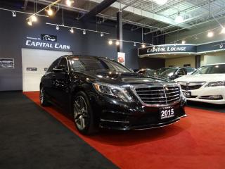 Used 2015 Mercedes-Benz S-Class S550 4MATIC / NIGHT VISION / 360' PARK ASSIST for sale in North York, ON