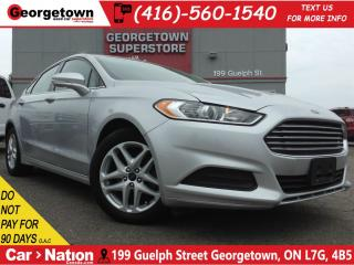 Used 2014 Ford Fusion SE | BLUETOOTH | 2.5L | POWER OPTIONS for sale in Georgetown, ON
