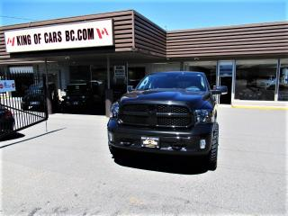 Used 2018 RAM 1500 BIG HORN - CREW CAB 5.7L HEMI for sale in Langley, BC