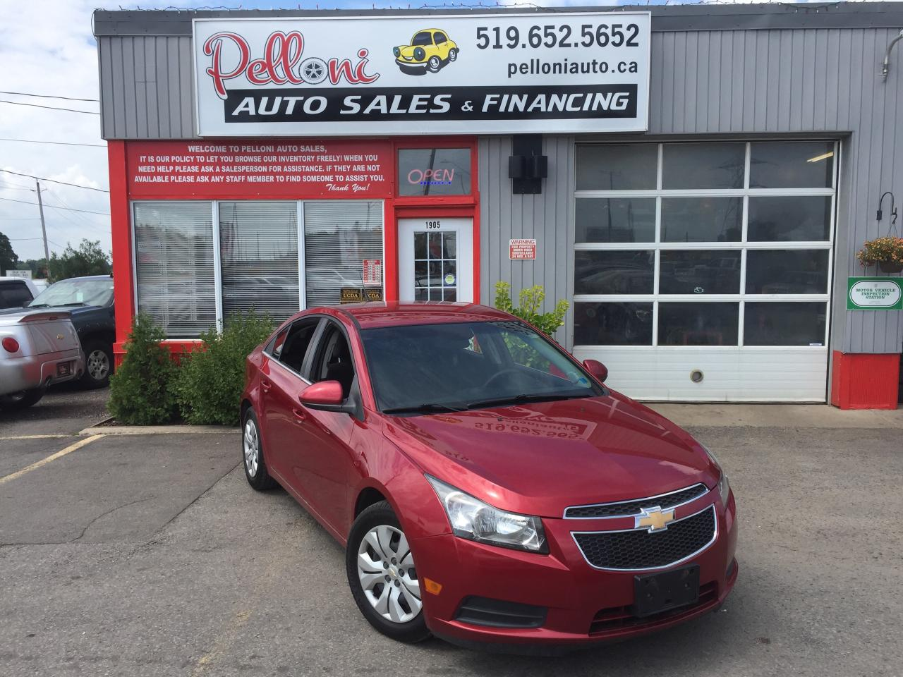 Used 2012 Chevrolet Cruze Lt Turbo W Remote Start For Sale In Help