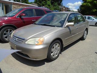 Used 2002 Honda Civic LX-G AUTO , AIR for sale in King City, ON