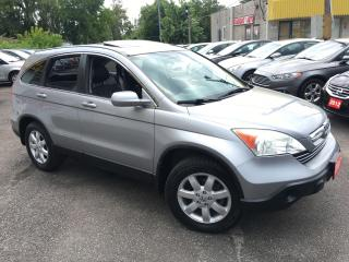Used 2007 Honda CR-V EX-L/ AWD/ LEATHER/ SUNROOF/ ALLOYS/ FULLY LOADED for sale in Scarborough, ON