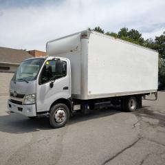 Used 2012 Hino 195 20' with ramp for sale in Kitchener, ON