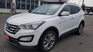 Used 2014 Hyundai Santa Fe SE,  Rare 4 cy, 2.0 Turbo, Leather,Roof, AWD for sale in Toronto, ON