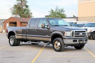 Used 2005 Ford F-350 Lariat 4X4 Dually 8FT for sale in Brampton, ON