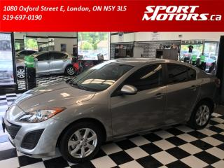 Used 2011 Mazda MAZDA3 New Tires+Brakes! A/C+Keyless Entry+Tinted+Cruise for sale in London, ON