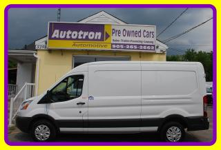 Used 2017 Ford Transit 350, 1 Ton MID ROOF Cargo Van, Fully Loaded for sale in Woodbridge, ON
