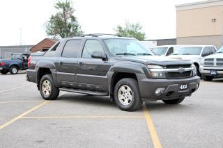 Used 2004 Chevrolet Avalanche 4X4 Loaded NAV for sale in Brampton, ON