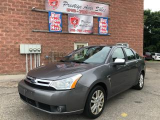 Used 2009 Ford Focus SEL/NO ACCIDENT/CERTIFIED/WARRANTY INCLUDED for sale in Cambridge, ON