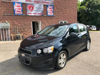 Used 2012 Chevrolet Sonic LT/CERTIFIED/WARRANTY INCLUDED for sale in Cambridge, ON