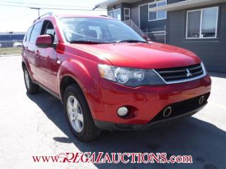 Used 2008 Mitsubishi OUTLANDER  4D UTILITY 4WD for sale in Calgary, AB