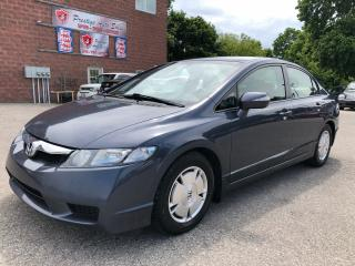 Used 2009 Honda Civic HYBRID/NO ACCIDENT/CERTIFIED/WARRANTY INCLUDED for sale in Cambridge, ON