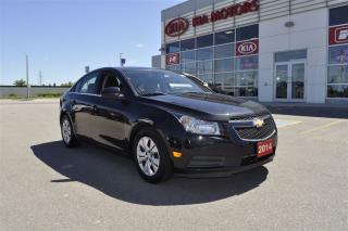 Used 2014 Chevrolet Cruze 1LT   Low KM   Bluetooth for sale in Stratford, ON