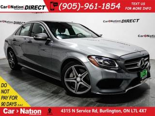 Used 2015 Mercedes-Benz C-Class C300 4MATIC  DUAL SUNROOF  NAVI  for sale in Burlington, ON