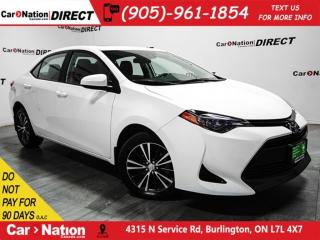 Used 2017 Toyota Corolla LE| SUNROOF| BACK UP CAMERA| TOUCH SCREEN| for sale in Burlington, ON
