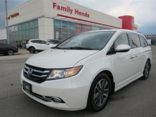 Used 2016 Honda Odyssey Touring, EXTENDED WARRANTY! for sale in Brampton, ON