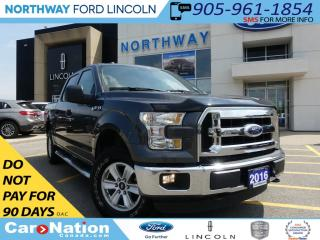 Used 2016 Ford F-150 XLT | LOW KM | REAR CAMERA | ECOBOOST | 4X4 | for sale in Brantford, ON