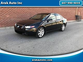 Used 2005 Acura TSX 5-Speed AT for sale in Mississauga, ON