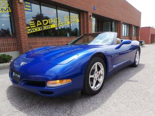 Used 2003 Chevrolet Corvette Convertible, 50th Anniversary Edition for sale in Woodbridge, ON