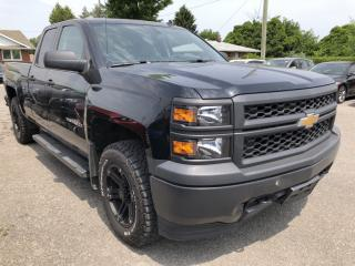 Used 2014 Chevrolet Silverado 1500 2WT 4x4 Dbl Cab with Bluetooth, Cruise, Pwr Windows, Keyless Entry, integrated Trailer Brake and Alloys! for sale in Kemptville, ON