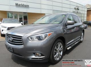 Used 2015 Infiniti QX60 Premium, Deluxe Touring, Tech, Navi, BSM, Bose Audio, Pano for sale in Unionville, ON