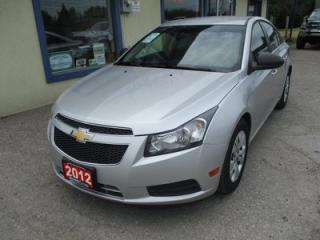 Used 2012 Chevrolet Cruze 'GREAT VALUE' 2-LS EDITION 5 PASSENGER 1.8L - ECO-TEC.. KEYLESS ENTRY.. CD/AUX INPUT.. for sale in Bradford, ON