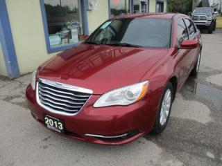 Used 2013 Chrysler 200 FUEL EFFICIENT TOURING MODEL 5 PASSENGER 2.4L - DOHC.. HEATED SEATS.. KEYLESS ENTRY.. CD/AUX INPUT.. for sale in Bradford, ON
