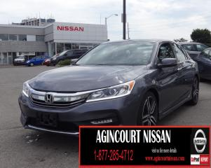 Used 2017 Honda Accord Sport |BACKUP CAMERA|SUNROOF|SMARTPHONE CONNECTIVITY| for sale in Scarborough, ON