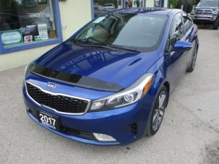 Used 2017 Kia Forte LOADED EX EDITION 5 PASSENGER 2.0L - DOHC.. LEATHER.. HEATED SEATS.. POWER SUNROOF.. BACK-UP CAMERA.. BLUETOOTH.. for sale in Bradford, ON