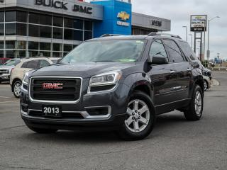 Used 2013 GMC Acadia SLE, 8 SEATER, REMOTE START, BLUETOOTH + CRUISE for sale in Ottawa, ON