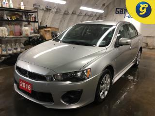 Used 2016 Mitsubishi Lancer ES*CVT*PHONE CONNECT*FRONT HEATED SEATS*CLIMATE CONTROL/AUTO MODE*POWER WINDOWS/MIRRORS/ LOCKS*KEYLESS ENTRY*AM/FM/CD/USB* for sale in Cambridge, ON
