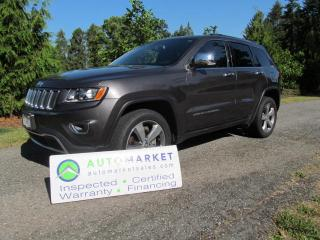 Used 2015 Jeep Grand Cherokee Limited, NAVI, WARR, FINANCE for sale in Surrey, BC