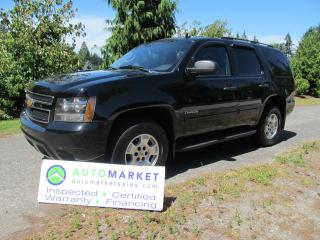 Used 2012 Chevrolet Tahoe LEATHER, MOONROOF, 4X4, INSP, WARR, FINANCE for sale in Surrey, BC