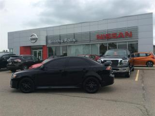 Used 2017 Mitsubishi Lancer SE Black Edition 5MT for sale in Smiths Falls, ON