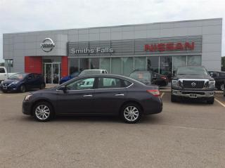 Used 2015 Nissan Sentra 1.8 SV CVT for sale in Smiths Falls, ON