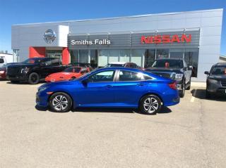Used 2017 Honda Civic Sedan LX CVT for sale in Smiths Falls, ON