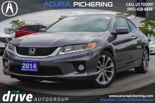 Used 2014 Honda Accord EX-L-NAVI V6 Navigation|Leather Upholstery|Sunroof for sale in Pickering, ON