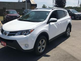 Used 2015 Toyota RAV4 XLE BACK UP CAM! DUAL CLIMATE! HANDS FREE! KEYLESS ENTRY! for sale in Kingston, ON
