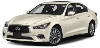 New 2018 Infiniti Q50 3.0t LUXE 3.0T Luxe AWD for sale in Unionville, ON