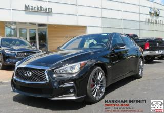 New 2018 Infiniti Q50 3.0t Red Sport 400 3.0T Red Sport 400 AWD for sale in Unionville, ON