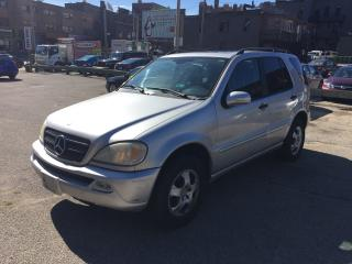 Used 2003 Mercedes-Benz ML 320 3.7L Classic for sale in Toronto, ON