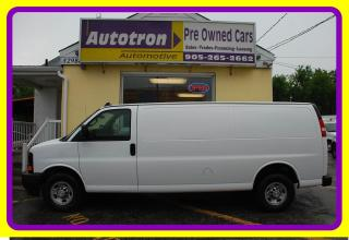 Used 2017 Chevrolet Express 2500 3/4 Ton EXTENDED Cargo Van, A/C for sale in Woodbridge, ON