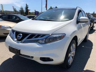 Used 2013 Nissan Murano LE, Local, LEATHER, HTD SEATS, MOONROOF, HID H/L for sale in Surrey, BC