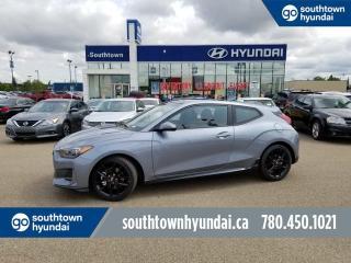 New 2019 Hyundai Veloster TURBO - 1.6T COLOUR TOUCHSCREEN/BLINDSPOT DETETION/BACKUP CAMERA for sale in Edmonton, AB