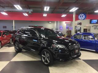 Used 2015 Audi Q7 3.0T S-LINE 7 PASSENGERS NAVI PUSH START PANO/ROOF for sale in North York, ON