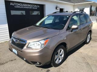 Used 2014 Subaru Forester 2.5i Touring for sale in Kingston, ON