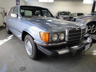 Used 1977 Mercedes-Benz S-Class 280SE,MUST SEE,COLLECTOR ITEM for sale in North York, ON