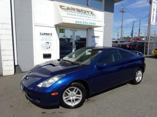 Used 2001 Toyota Celica GT, 5 Speed, NO Accidents!! Only 158,428 Kms.! for sale in Langley, BC